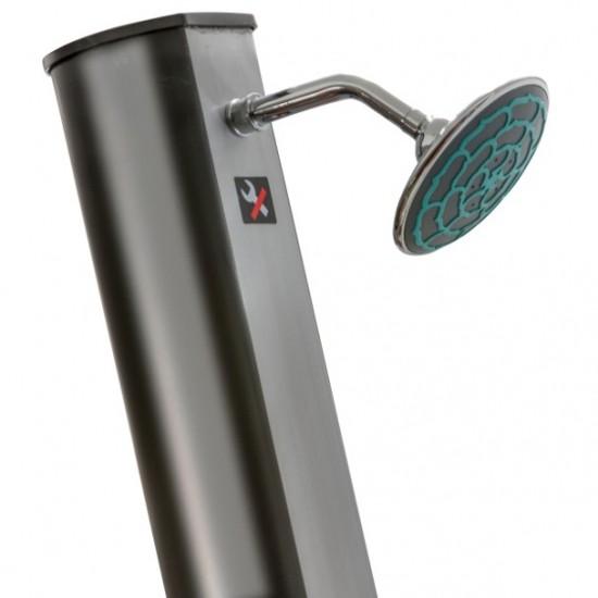 Douche solaire - 35 litres avec robinet lave pieds