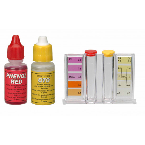 Trousse chlore/brome + pH