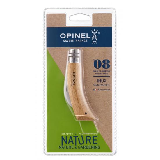 Blister Serpette-Greffoir Opinel - N°8 Inox